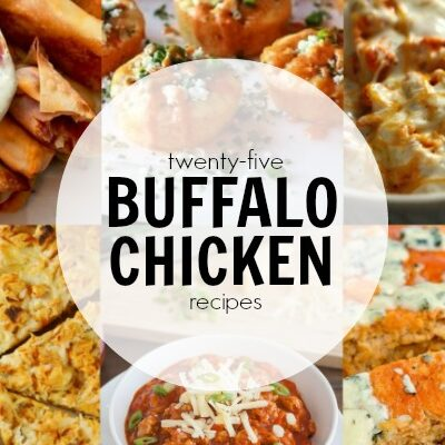 I want to try ALL of these amazing buffalo chicken recipes! Perfect for game day!