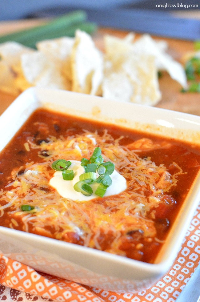 This Chicken Enchilada Soup is so tasty and a great, easy alternative ...