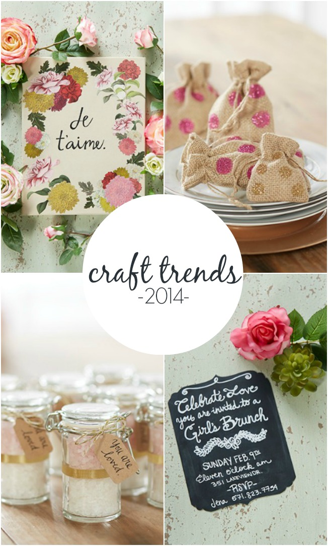 Top Craft Trends for 2014 | A Night Owl Blog