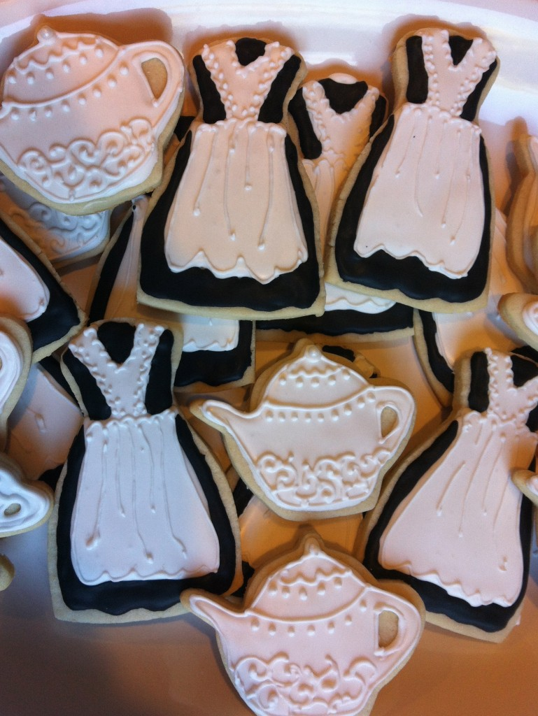 Downton Abbey Cookies by Yenta Mamas