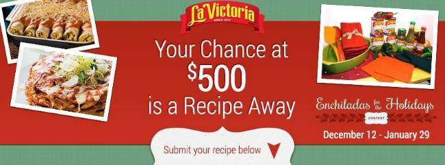 LA VICTORIA Facebook Contest