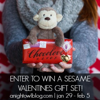 Win a Sesame Valentines Gift Set
