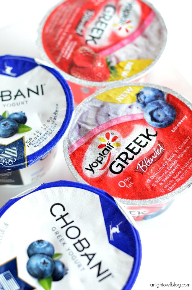 Natural Yogurt Vs Greek