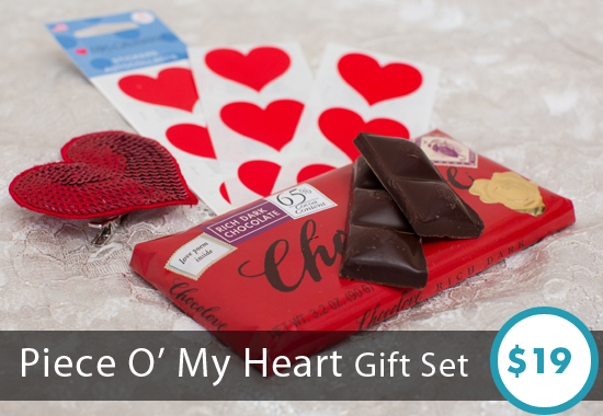 Piece O' My Heart Gift Set by Sesame Gifts