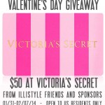 $50 Victoria's Secret Valentine's Day Giveaway