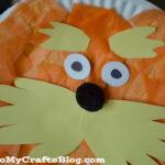 Lorax Paper Plate Craft