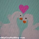 Swan Handprint Craft