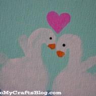 Swan Handprint Craft