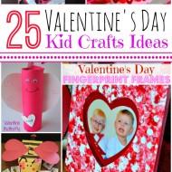 25+ Valentine's Day Craft Ideas for Kids