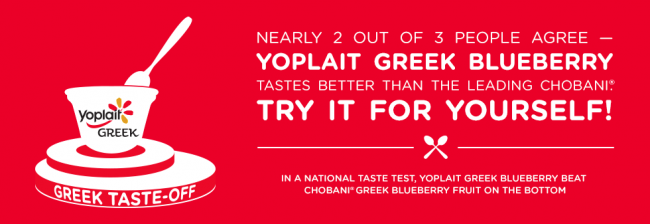 The Yoplait Greek Taste-Off