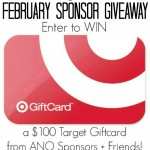 February Sponsor $100 Target Gift Card Giveaway