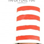 Cat in the Hat Paper Plate Hat