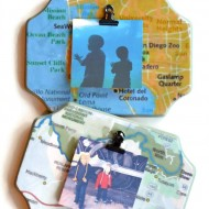 DIY Map Frames – Decorating with Pictures