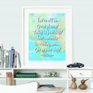 Oh the Places You'll Go Dr. Seuss Printables