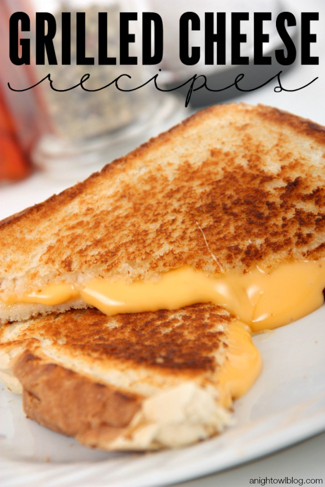 25+ Awesome Grilled Cheese Recipes | anightowlblog.com