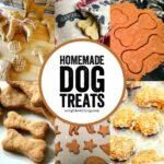 10+ Homemade Dog Treats