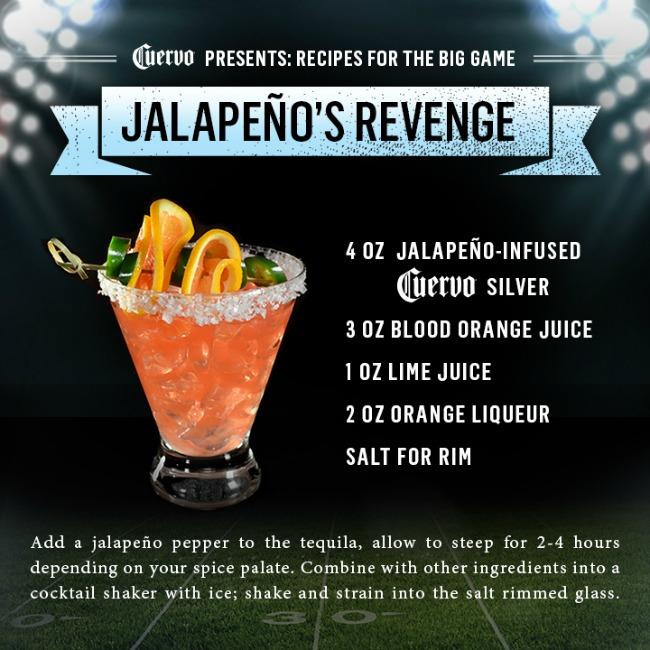 Jose Cuervo Big Game Jalapeno Cocktail