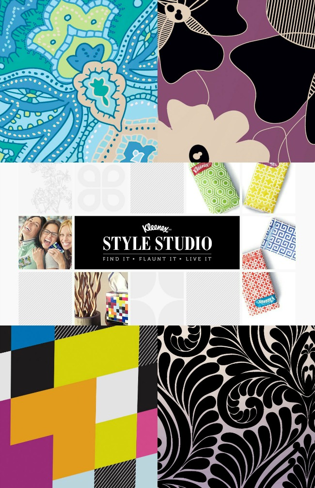 Personalize your box with Kleenex Style Studio #KleenexStyle