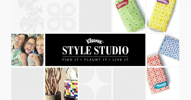Personalize your box with Kleenex Style Studio #KleenexStyle