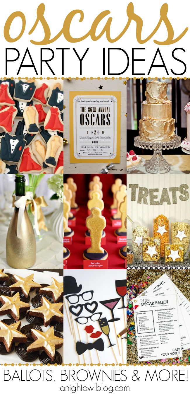 So many great Oscar party ideas!