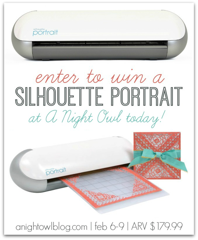 Enter to WIN a Silhouette Portrait at A Night Owl! | February 6-9