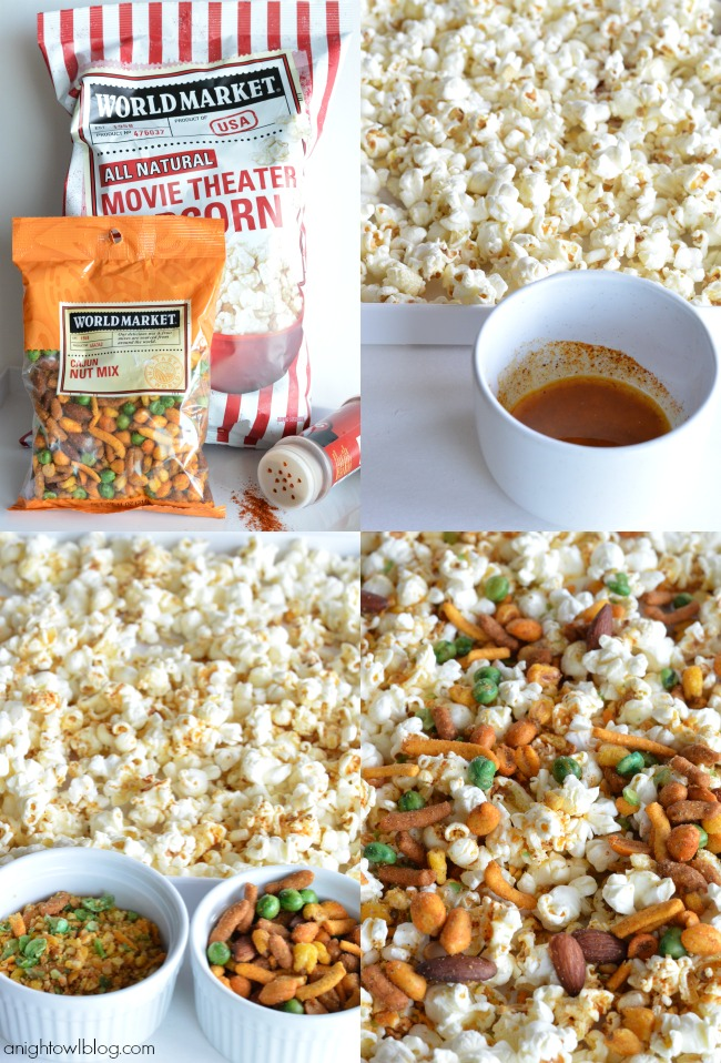 Gourmet Popcorn Recipes like this Spicy Cajun Popcorn are the perfect ...