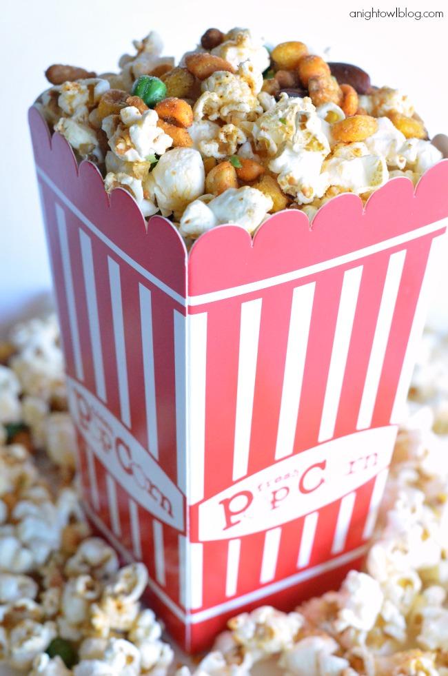 popcorn like our Sweetheart Popcorn , so I made Churro Gourmet Popcorn ...