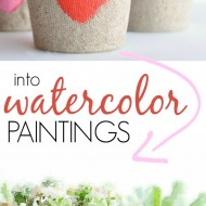 Turn Your Photos into Watercolor Paintings