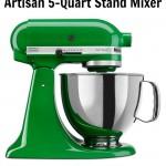 KitchenAid Artisan 5-Quart Stand Mixer Giveaway
