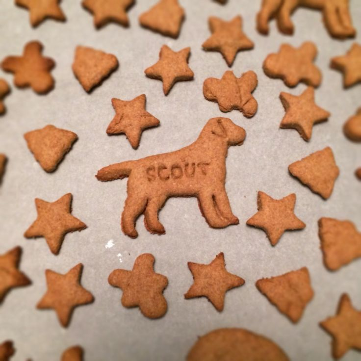 Peanut Butter Dog Treats by The Cookie Rookie