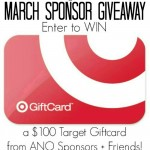 March Sponsor $100 Target Gift Card Giveaway