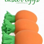 DIY Carrot Easter Eggs