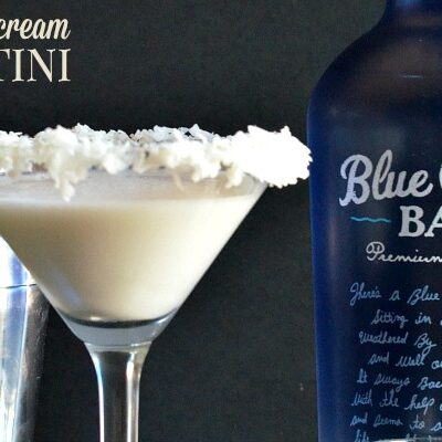 Coconut Cream Martini | anightowlblog.com