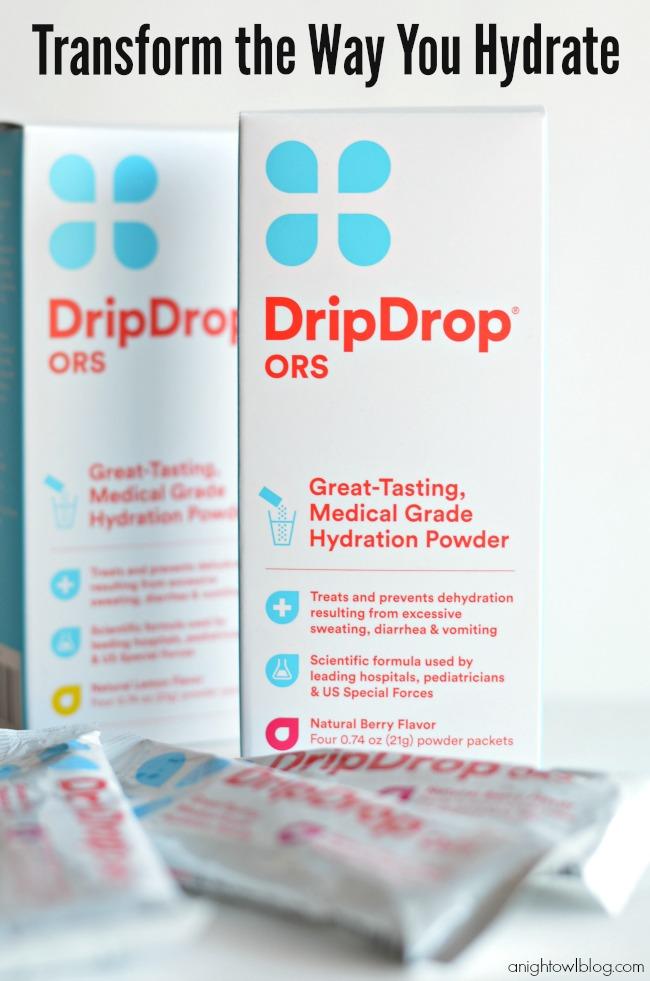 Drip Drop - transform the way you hydrate