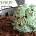 Grasshopper Pie Pizookie