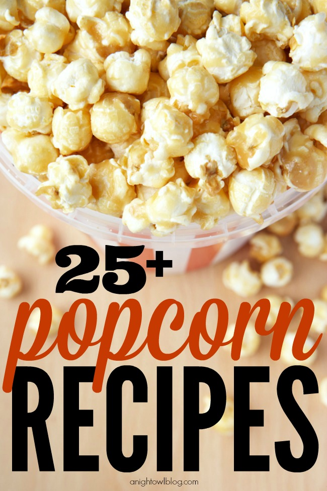Such a great list of yummy popcorn recipes!