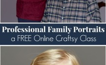 Professional Family Portraits - a FREE Online Craftsy Class