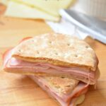 Skinny Grilled Ham and Cheese Sandwich