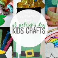 25+ St. Patrick's Day Kids Crafts