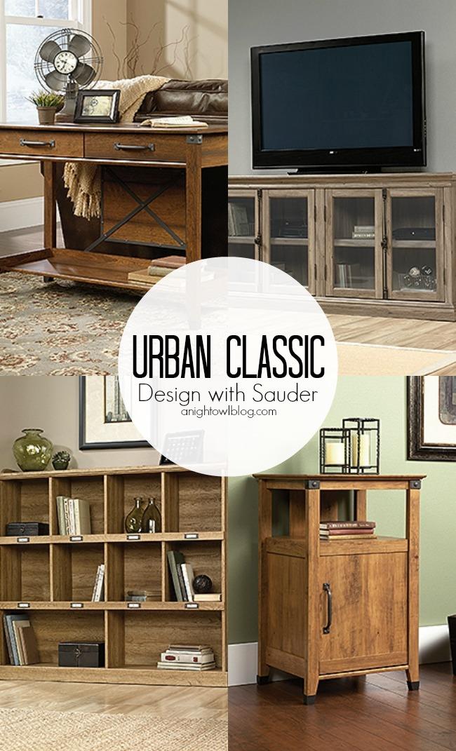 Urban Classic Design with Sauder