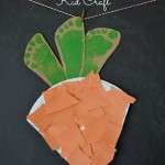Carrot Kid Craft