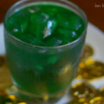 Vanilla Mint Leprechaun Kiss - a fun and festive St. Patrick's Day cocktail!