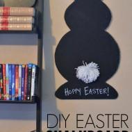 DIY Easter Chalkboard
