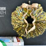 DIY Phone Book Wreath