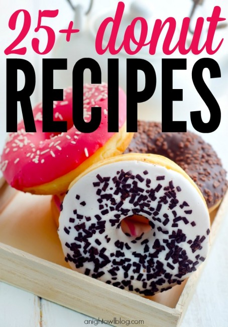 Such a great list of yummy donut recipes!