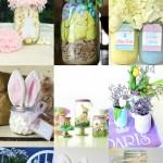 Easter Mason Jar Ideas