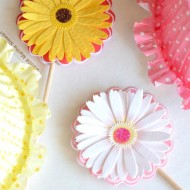 Floral Party Craft Ideas