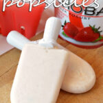 Greek Yogurt Popsicles - perfect recipe for Spring and Summer!