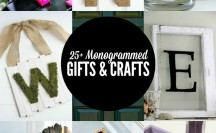 Monogrammed Gifts and Crafts Feature