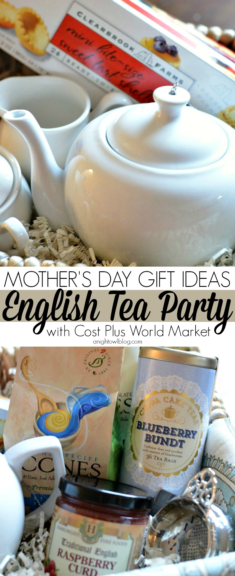Mother's Day Gift Ideas - English Tea Party